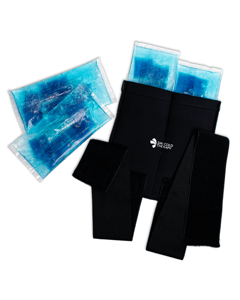 A SMI Cold Therapy Wrap and Gel Bags